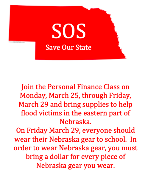 Personal Finance class Fundraiser