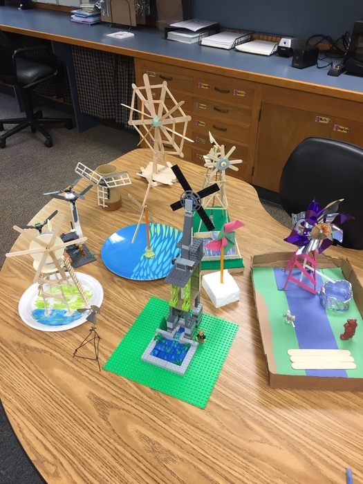 Windmills-4th Grade Science Project