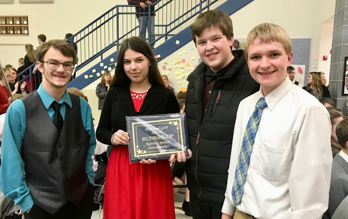 Novice Speech Team Runner-Up