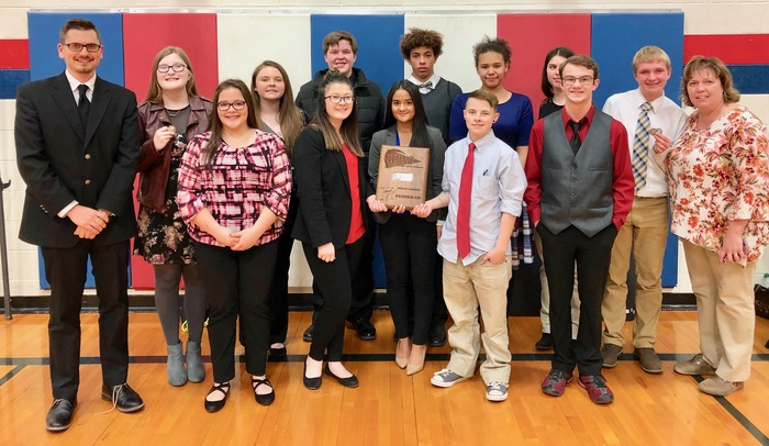 PHS Speech Team RPAC Runner-Up