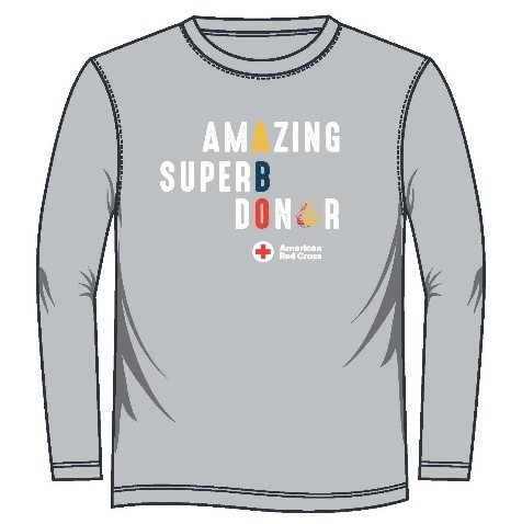 As a thank you for donating during this shortage time you'll receive a free t-shirt!