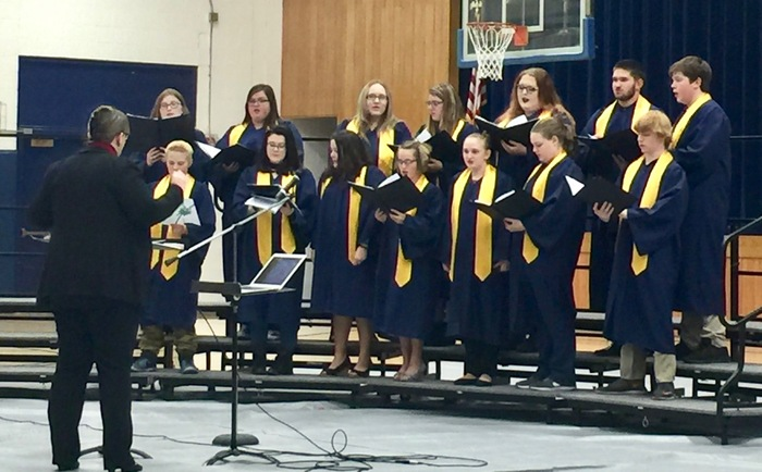 Paxton HS Choir