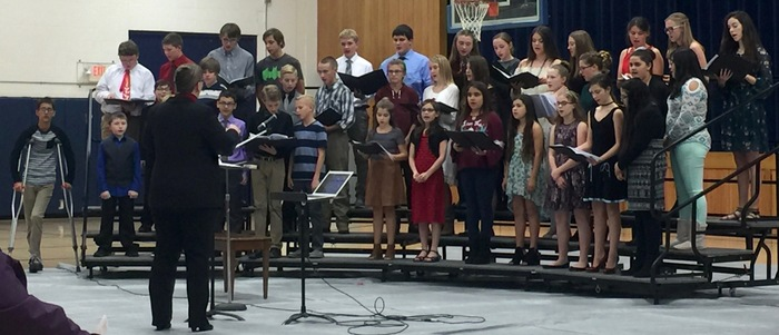 Paxton Middle School Choir
