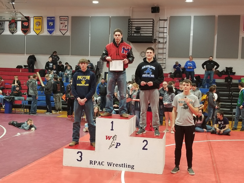 170lb RPAC Wrestling Medalists