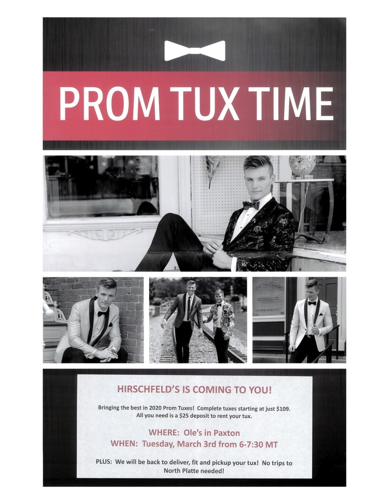 Tux Night Information