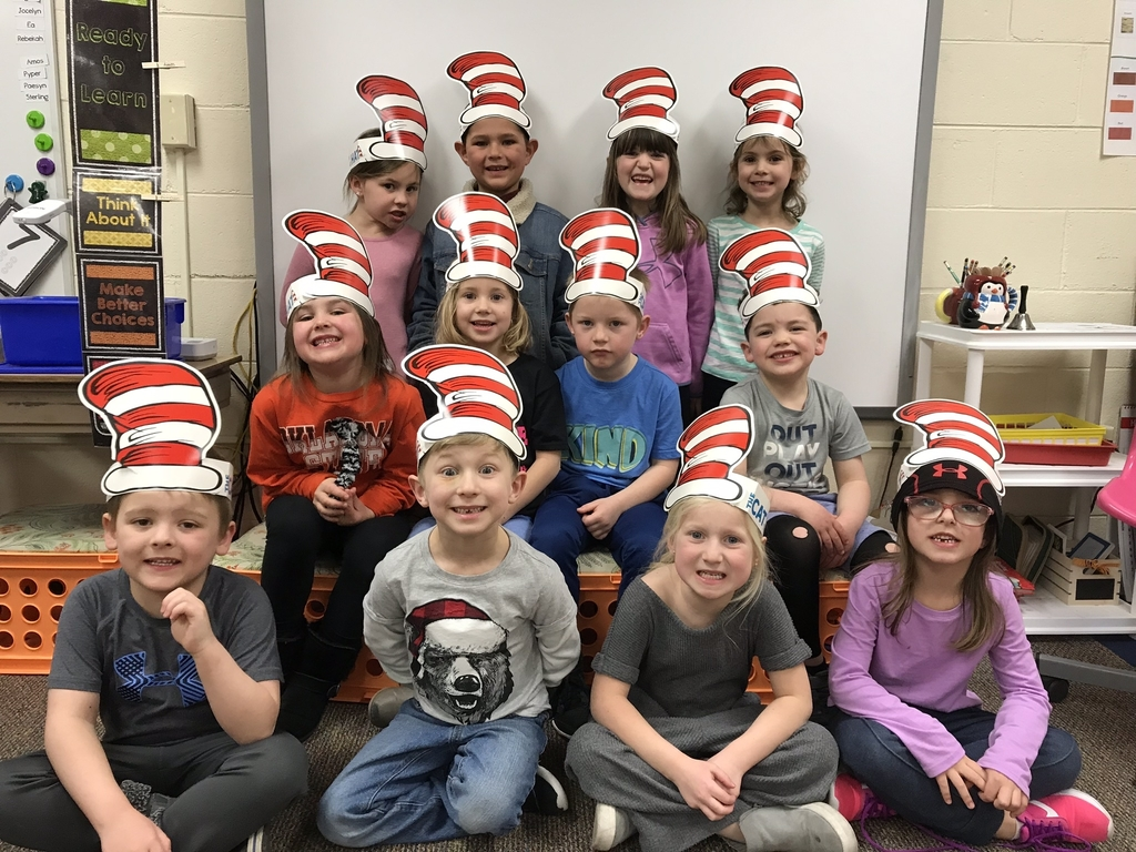 Kindergarten celebrates Read Across America Week.