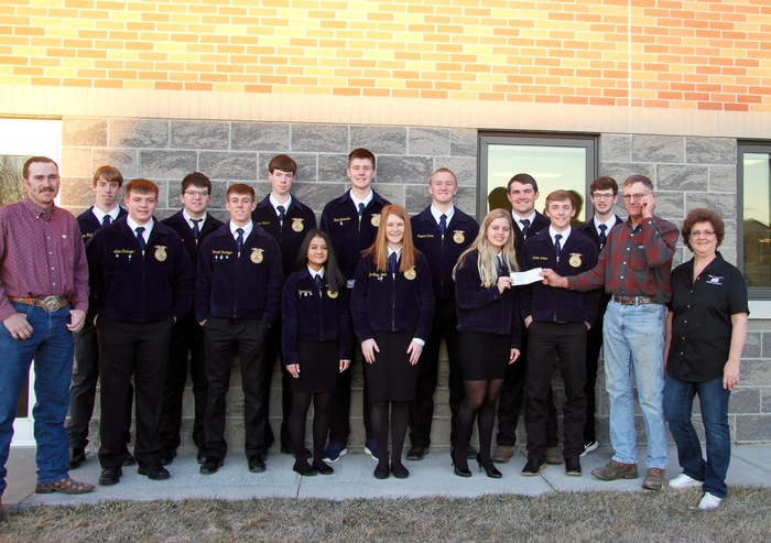 Paxton FFA & Farm Bureau Representatives