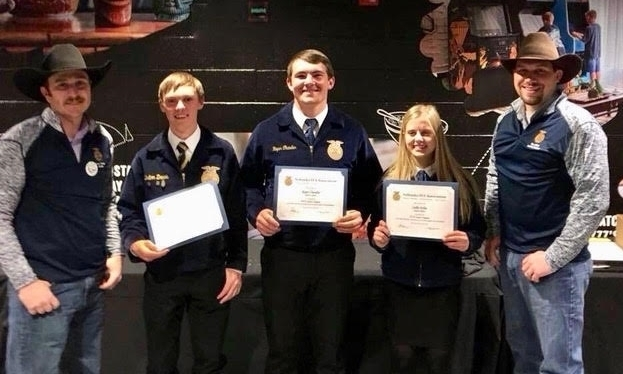 2018 State FFA Degree Recipients and Sponsors