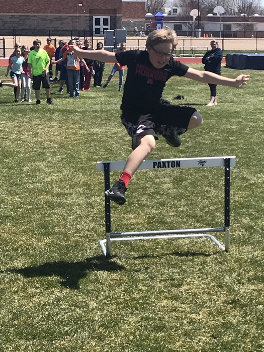 5th Grade Hurdler.